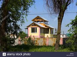 Small Home Construction In A Suburb Of Almaty A Small House Construction Project Has Big