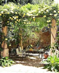 Backyard Decor Pinterest Eye Catching Mediterranean Backyard Garden Décor Ideas Courtyard