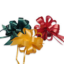 pull ribbon pull string bow