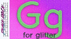 letter g for glitter fun preschool crafts for kids best