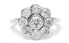 cluster rings diamond cluster ring ebay