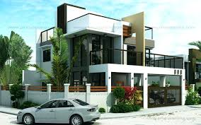 modern two story house plans modern 2 storey house design large size of storey modern house