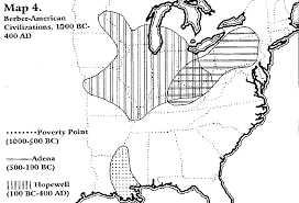 Michigan Indian Tribes Map by From The Mississippi To Mexico The Great Migration Of The Aztecs