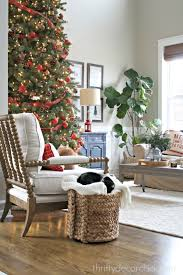 Christmas Home Decoration Pic Thrifty Decor Christmas Home Tour From Thrifty Decor