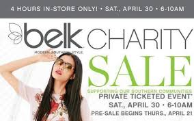 belk charity sale spca of martinsville and henry county