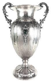Silver Vase Hallmarked Vintage Italian 800 Silver Vase Sterling Heirlooms