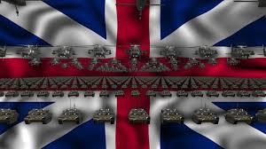 Great Britain Flag Great Britain Army Flag Vj Loop Video Vj Clip Ful Hd Visuals