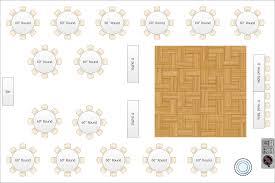 Banquet Floor Plan Software by Wedding Floor Plan Choice Image Home Fixtures Decoration Ideas
