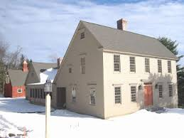 Clasic Colonial Homes by The Laurel Hedge Sweet Saltboxes