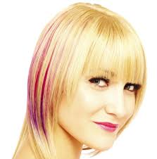 chunking highlights dark hair pictures red hair with blonde highlights are an attention grabbing look