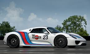 martini design porsche 918 spyder prototype in martini racing design 2012 mad 4