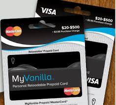 reloadable prepaid debit cards myvanilla debit card vanilla visa balance gift card onevanilla