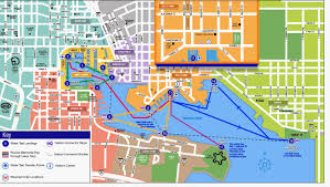 Bus Map Nyc Water Taxi Urban Transportation Between Uber And The Bus