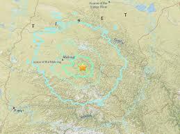 Himalayas On World Map by Tibet Earthquake 6 4 Magnitude Quake Strikes Himalayan Region