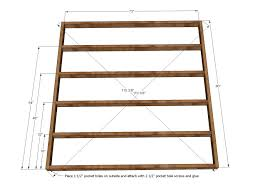 Platform Bed Woodworking Plans Diy by Bed Frames Diy King Platform Bed With Drawers King Size Bed