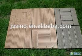 non slip wood composite decking tiles modular plastic floor tiles