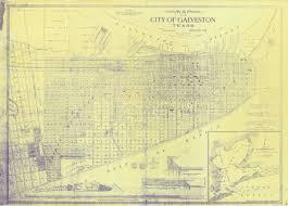 Galveston Island Map A U201cbulwark Against The Sea U201d U2014 The Galveston Seawall