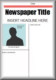 5w u0027s of reporting this microsoft word newspaper template could be