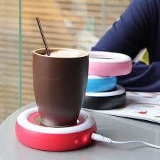 tapis chauffant bureau creative électrique isolation coaster usb tasse chaude tasse