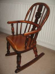 Child Rocking Chair Antique Folding Rocking Chair Identification