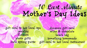 10 last minute ideas for s day gifts mommies with style