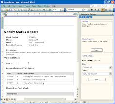 software development status report template building a status report application with visual studio 2005 tools