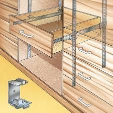 kitchen cabinet drawer guides 61 best drawer slides tips tricks images on pinterest