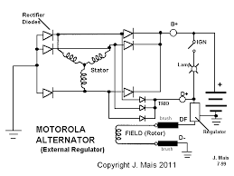 wiring diagram alternator wiring diagram internal regulator