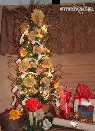 gypsyfarmgirl my rusty junky shabby chic christmas tree