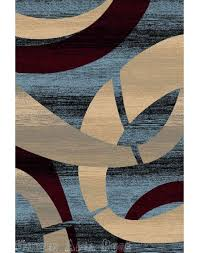 Area Rug Design Chocolate Brown And Blue Area Rug Rug Designs