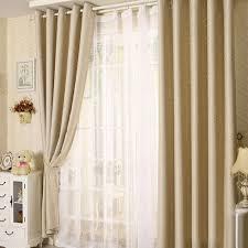 100 Curtains Anself 2pcs 100 250cm Modern Punching Grommet Blackout Curtain