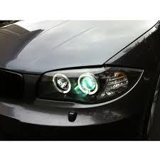 eye bmw headlights xenon 2008 2011 bmw 1 series eye halo led projector