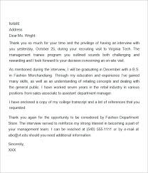 ideas of thank you letter after interview template microsoft on