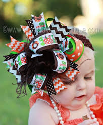 best 25 thanksgiving hair bows ideas on toddler hair