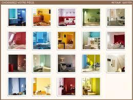 simulation peinture chambre choisir couleur des pièces à repeindre avec simulateur v33