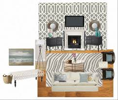 Tan And Gray Living Room by Home Sweet Home Improvement