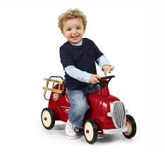 Radio Flyer Tricycle Bell Little Red Fire Engine Ride On Firetruck Toy Firetruck Ride On