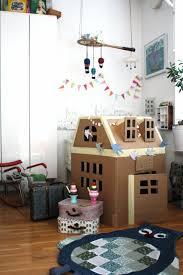 great cardboard house kidsworld pinterest house