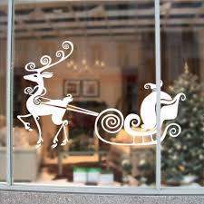 christmas tree vinyl wall decal christmas lights decoration
