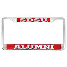 sdsu alumni license plate shopaztecs sdsu alumni license plate frame
