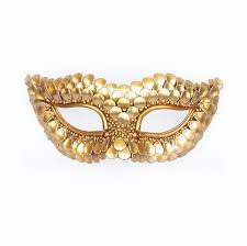 gold masquerade mask gold masquerade mask with fish scales texture metallic venetian