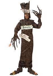 wonderful wizard of oz costumes halloweencostumes com scary tree costume
