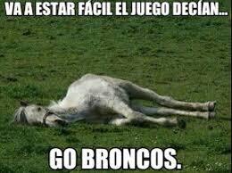 Memes De Los Broncos De Denver - tuiteros se burlan con memes de los broncos de denver e consulta