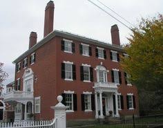 Adam Style House Historic Buildings Of Connecticut Blog Archive The Aaron