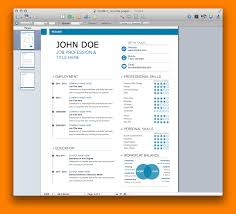 Resume Templates For Mac Pages 5 Cv Template Apple Pages Paradochart