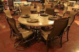 Tropitone Patio Chairs Montreux 7 Piece Round Dining Set By Tropitone Watson U0027s
