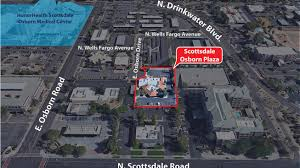 Scottsdale Fashion Square Map Scottsdale Osborn Plaza Medical Office 7321 E Osborn Drive