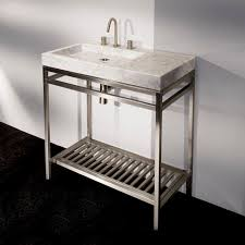 Pedestal Bathroom Vanities Bathroom Sink Standing Bathroom Sink Pedestal Modern Style Basin