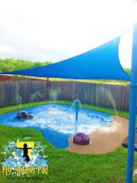 backyard splash pads san antonio home outdoor decoration