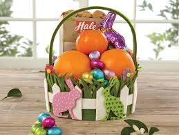 easter gift basket polka dot bunnies easter basket